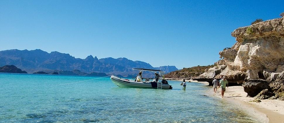Isla del Carmen, Baja California.