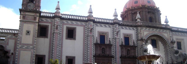 Real Beaterio de Santa Rosa de Viterbo en Santiago de Queretaro